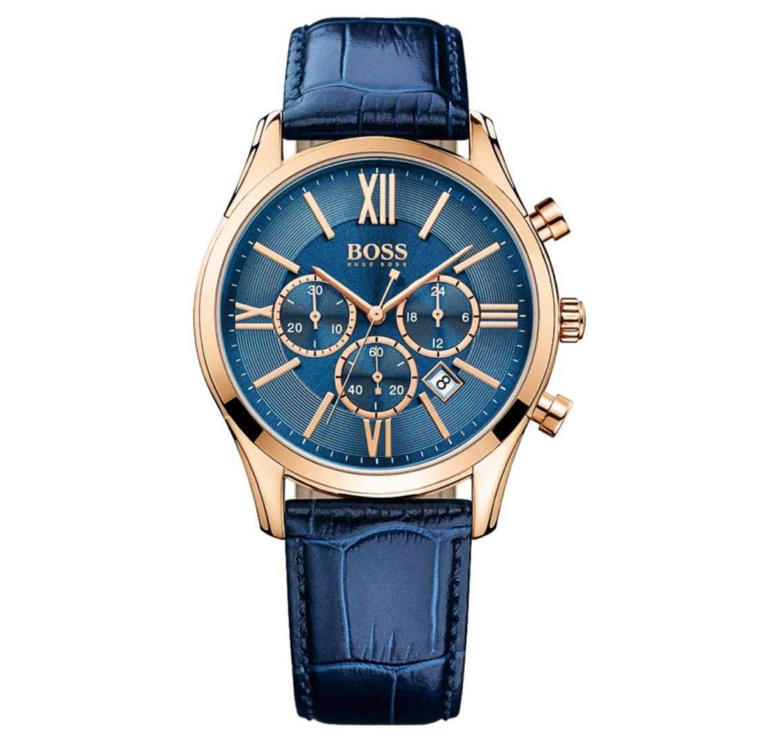 שעון יד אנלוגי לגבר hugo boss 1513320 הוגו בוס