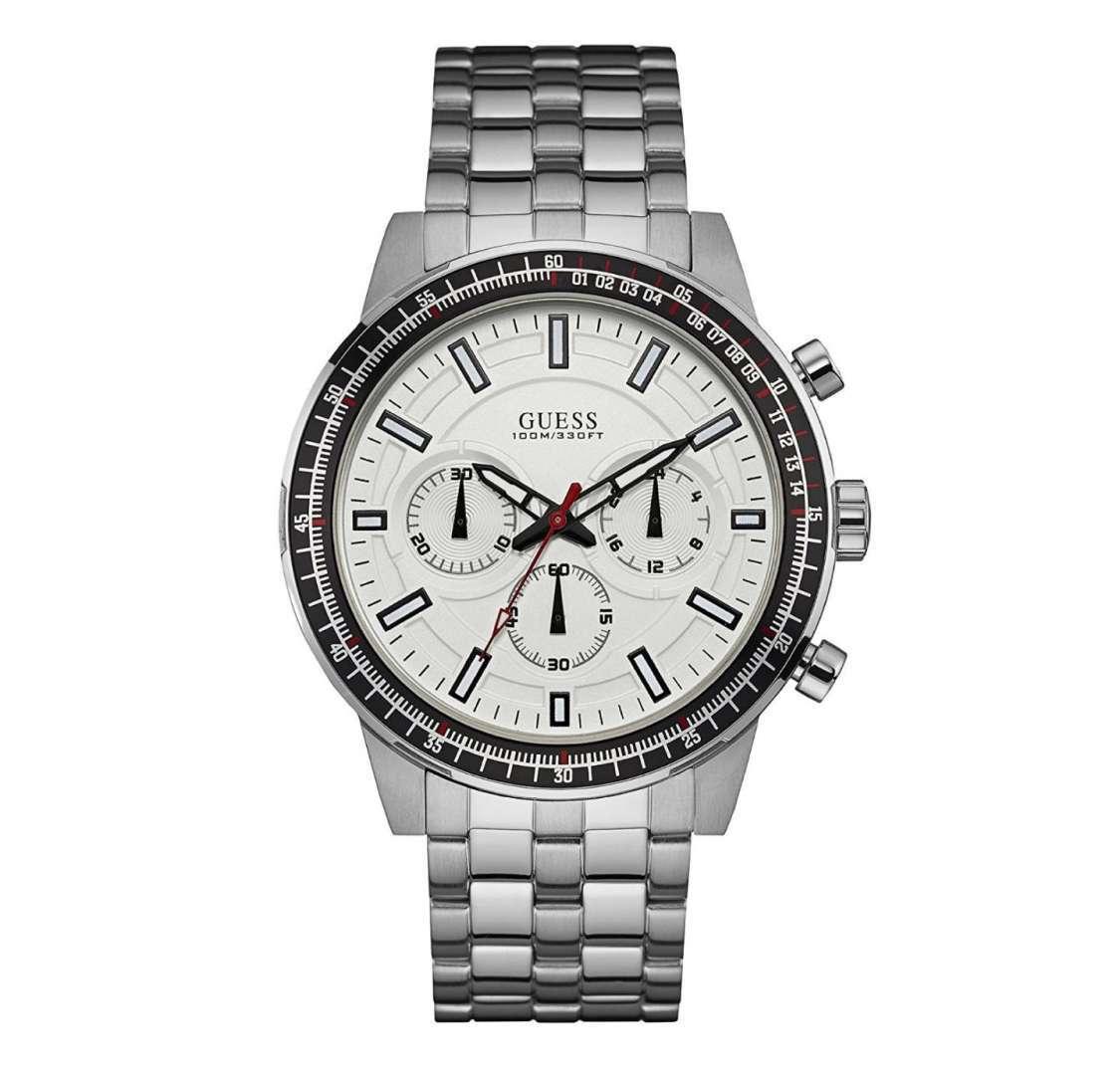 שעון יד אנלוגי דגם: guess W0801G1 גס