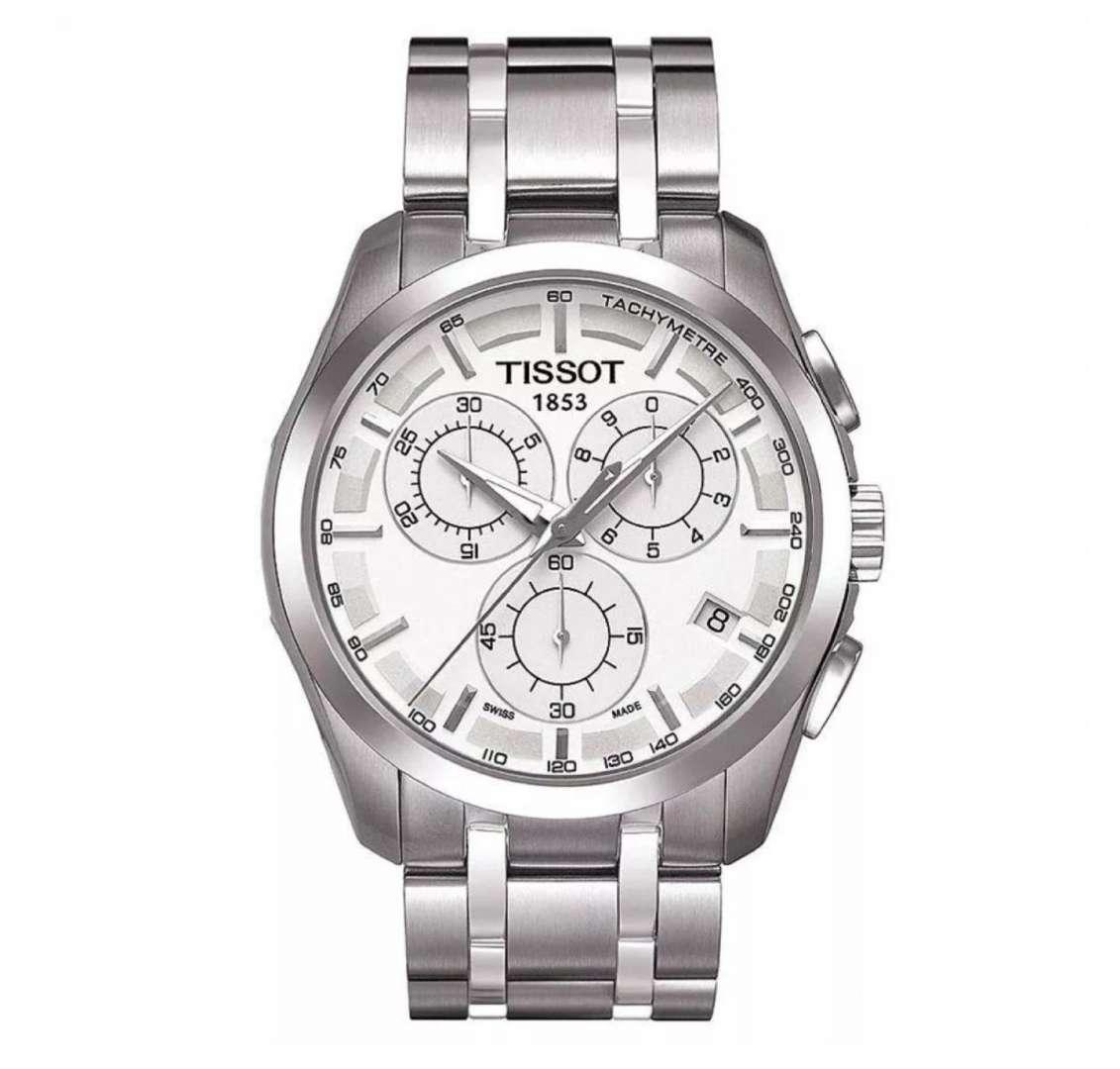 שעון יד אנלוגי tissot t035.617.11.031.00 טיסו