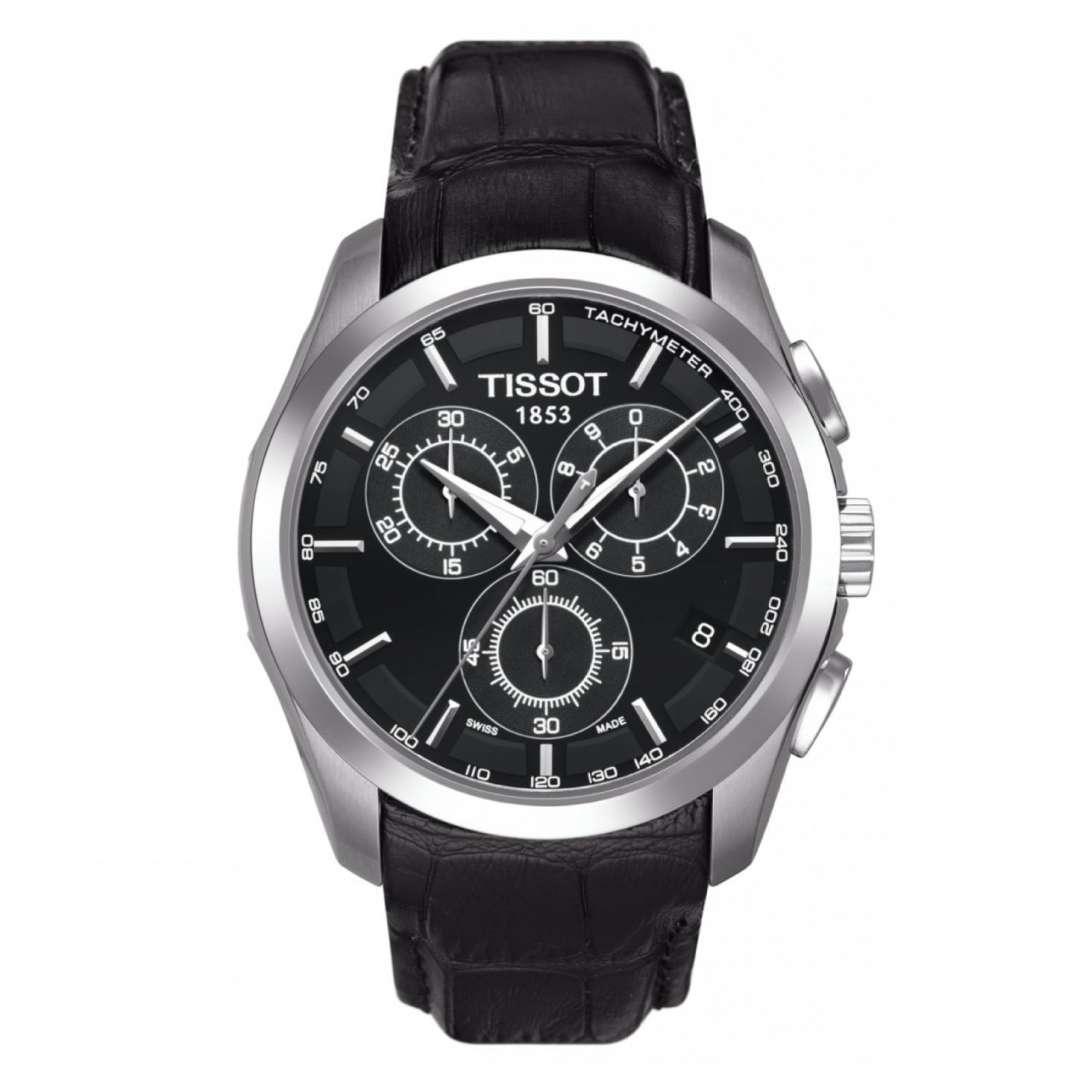 שעון יד אנלוגי tissot t035.617.16.051.00 טיסו