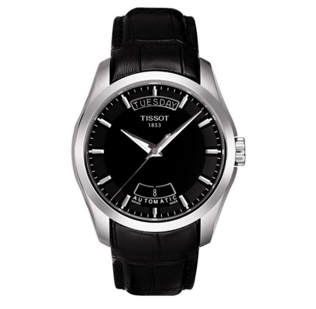 שעון יד אנלוגי tissot t035.407.16.051.00 טיסו