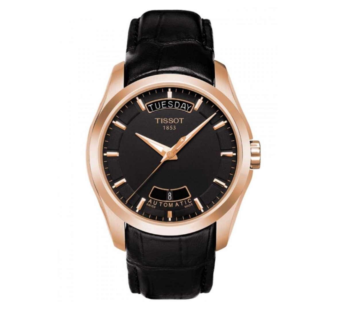 שעון יד אנלוגי tissot t035.407.36.051.00 טיסו