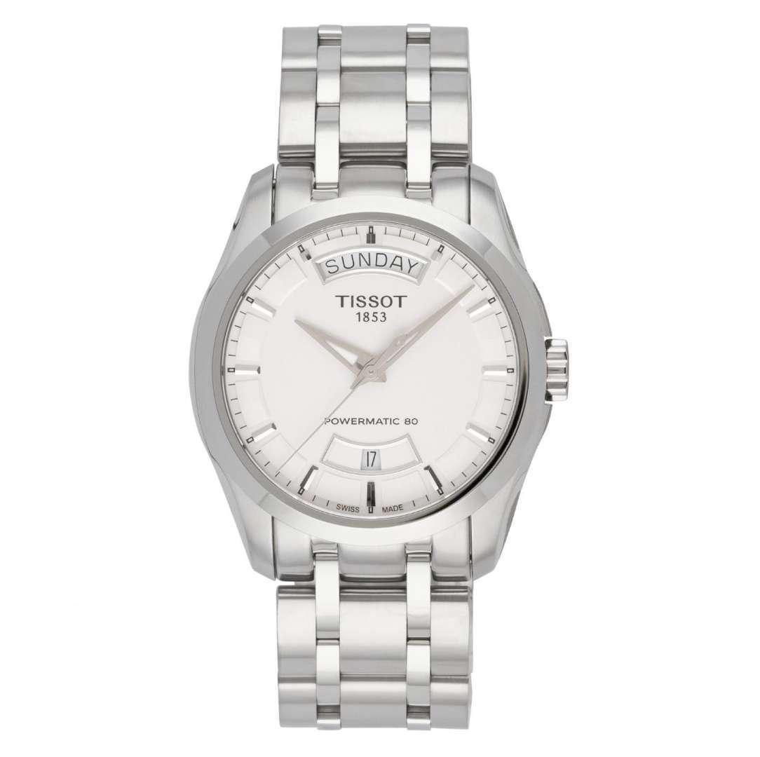 שעון יד אנלוגי tissot t035.407.11.031.00 טיסו