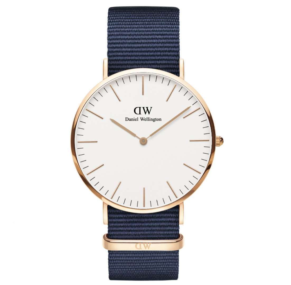 שעון יד אנלוגי daniel wellington dw00100275 דניאל וולינגטון