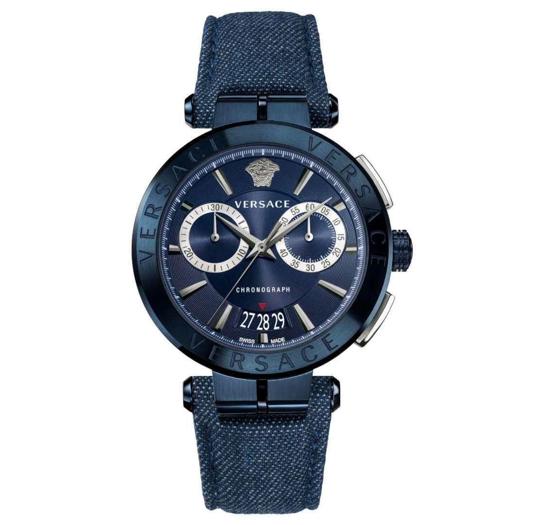 שעון יד אנלוגי versace vbr070017 ורסצ'ה