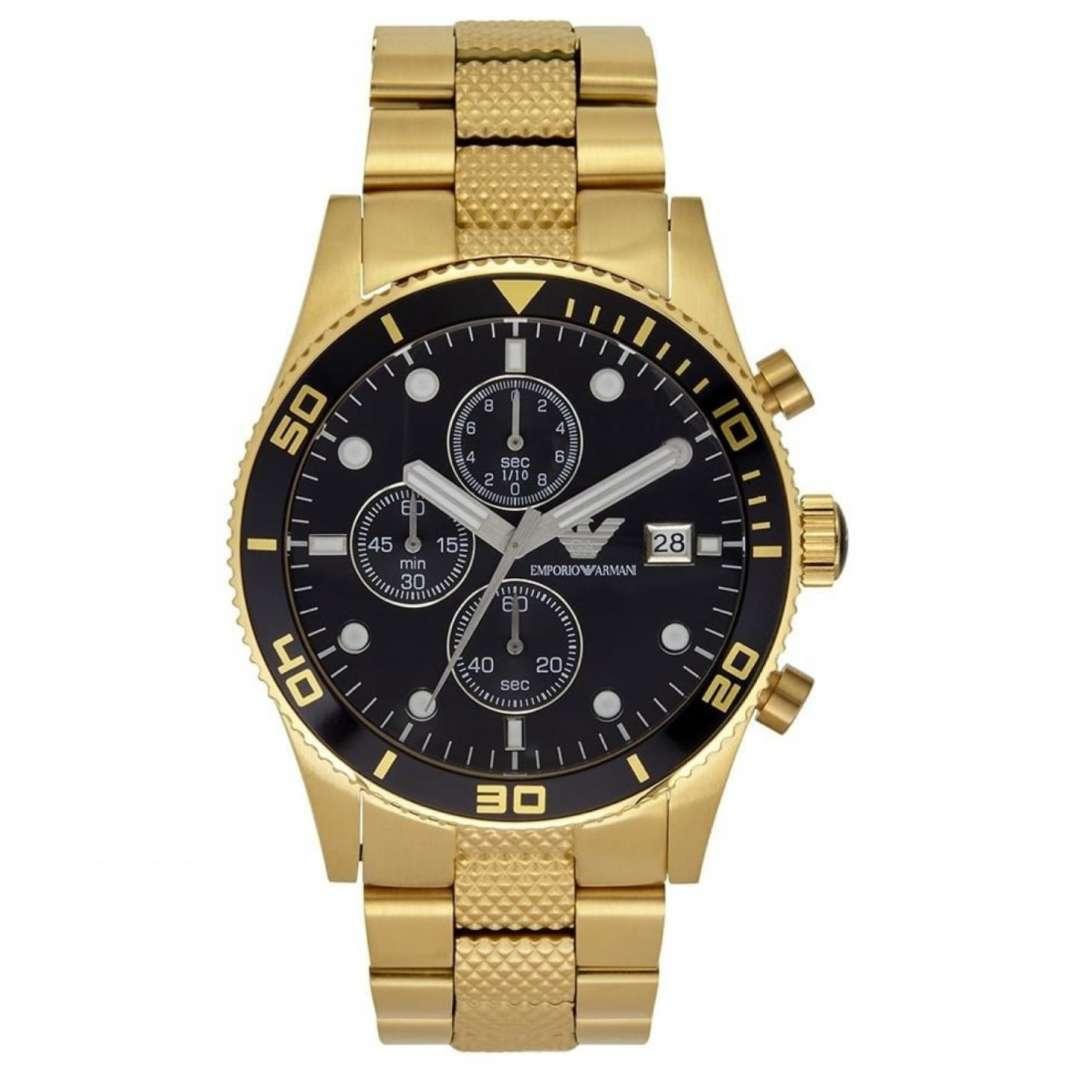 שעון יד אנלוגי לגבר emporio armani ar5857 אמפוריו ארמני
