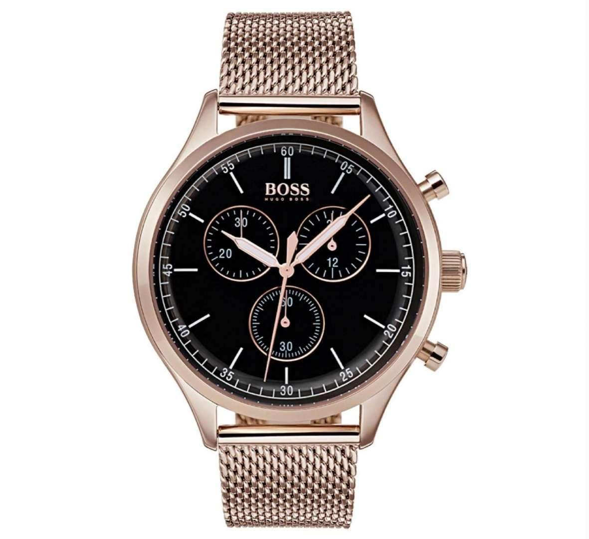 שעון יד אנלוגי לגבר hugo boss 1513548 הוגו בוס