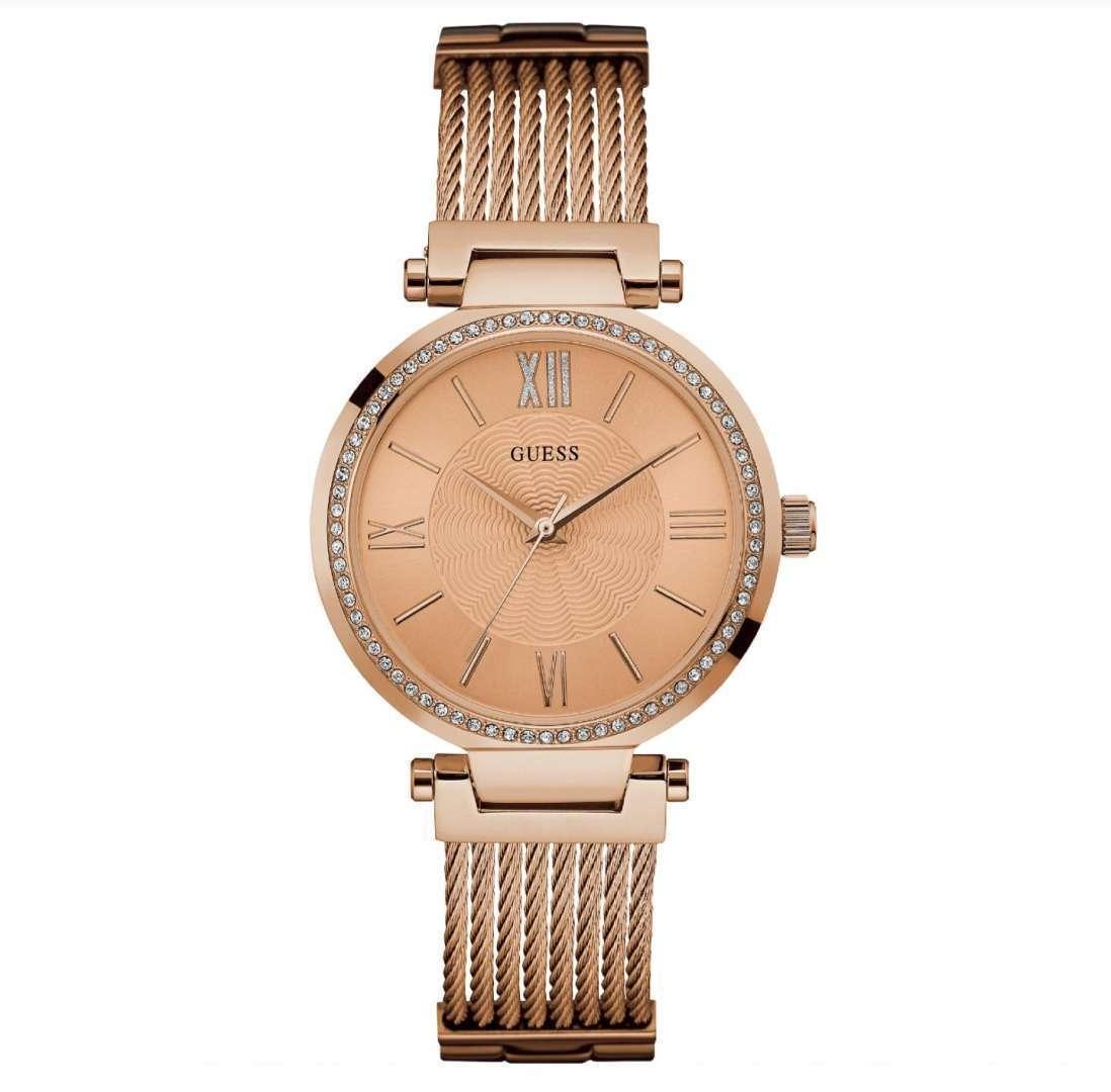 שעון יד אנלוגי דגם: guess W0638L4 גס
