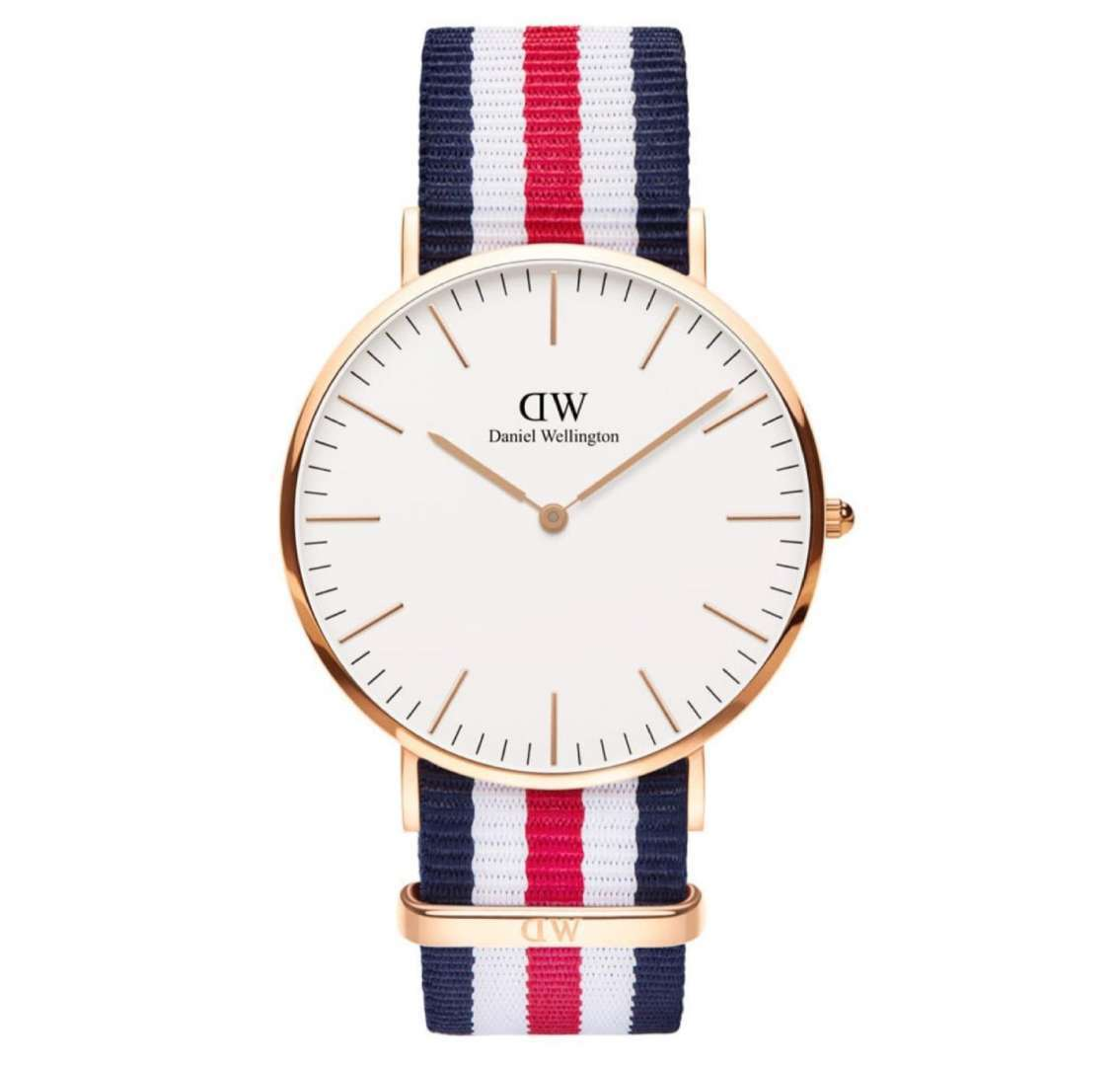 שעון יד אנלוגי daniel wellington dw00100002 דניאל וולינגטון