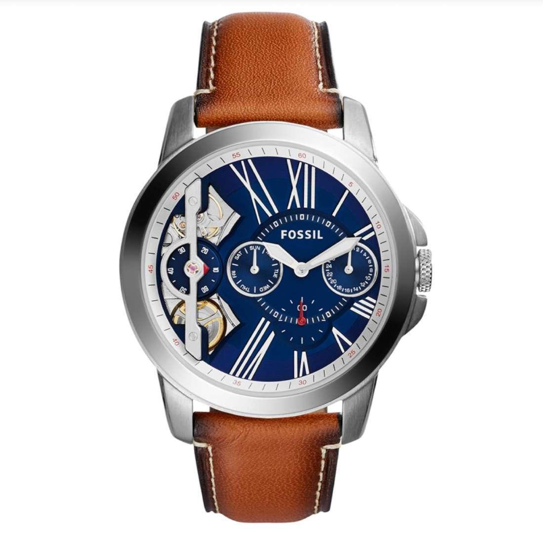 שעון יד אנלוגי fossil me1161 פוסיל