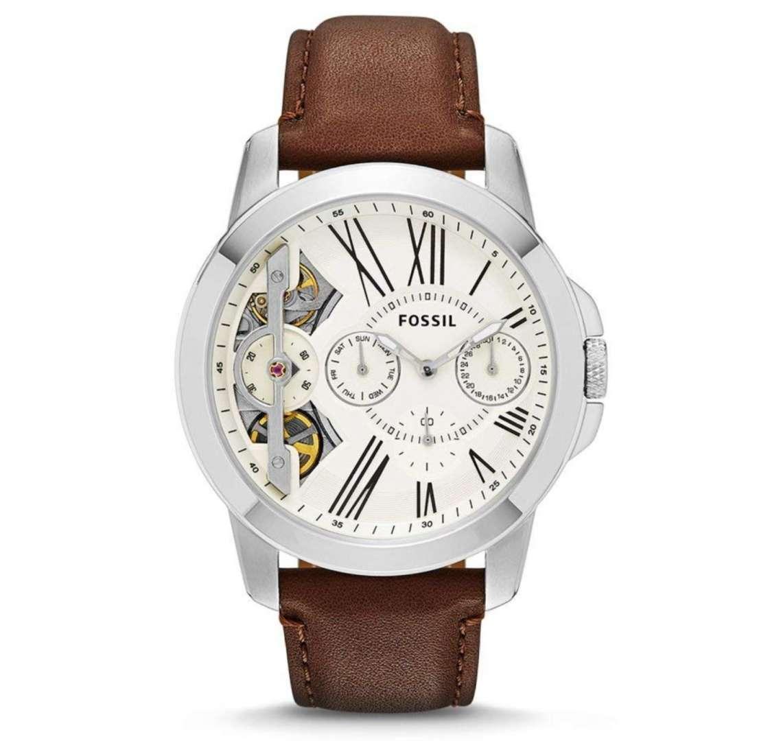 שעון יד אנלוגי fossil me1144 פוסיל