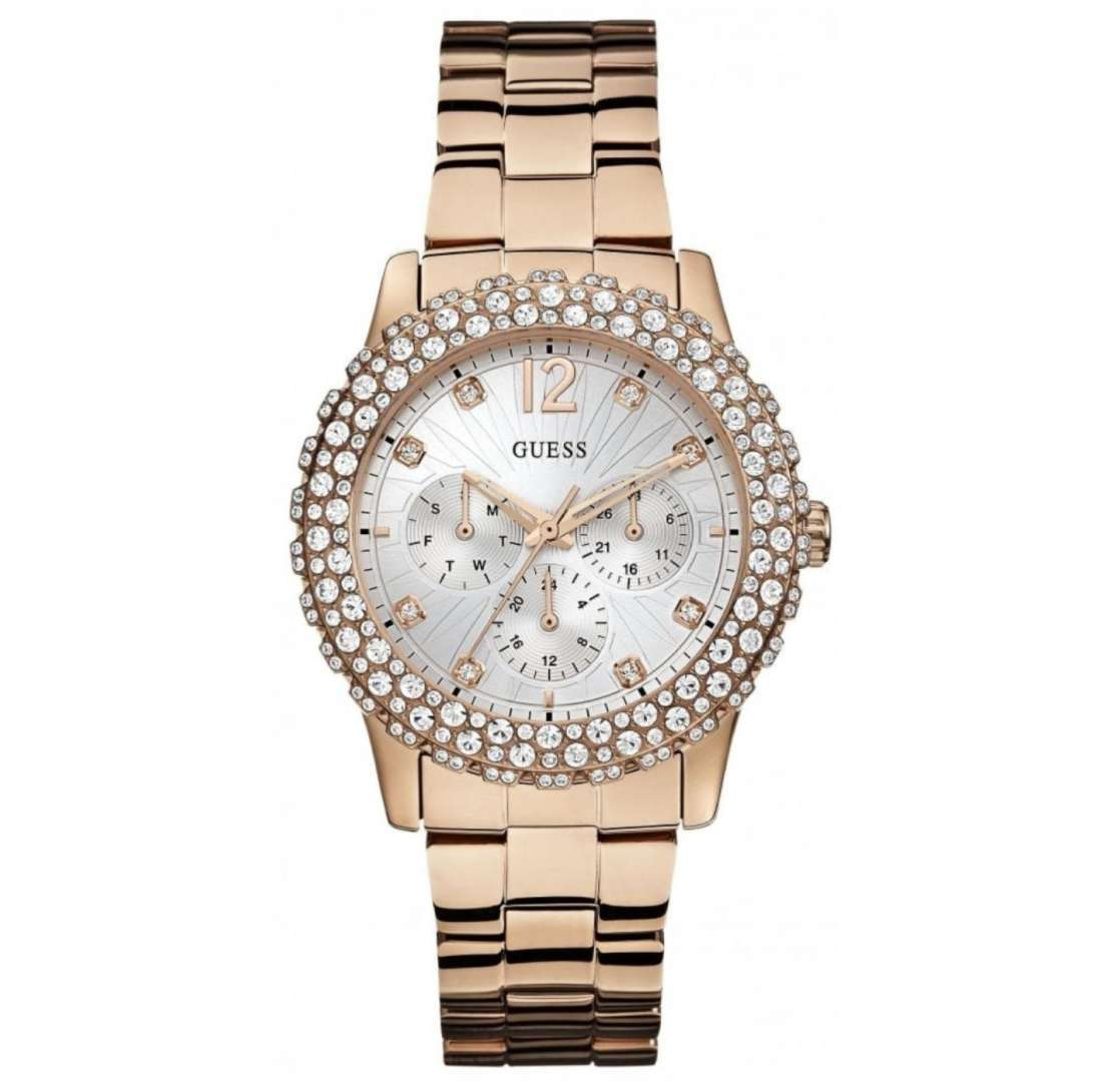 שעון יד אנלוגי דגם: guess W0335L3 גס