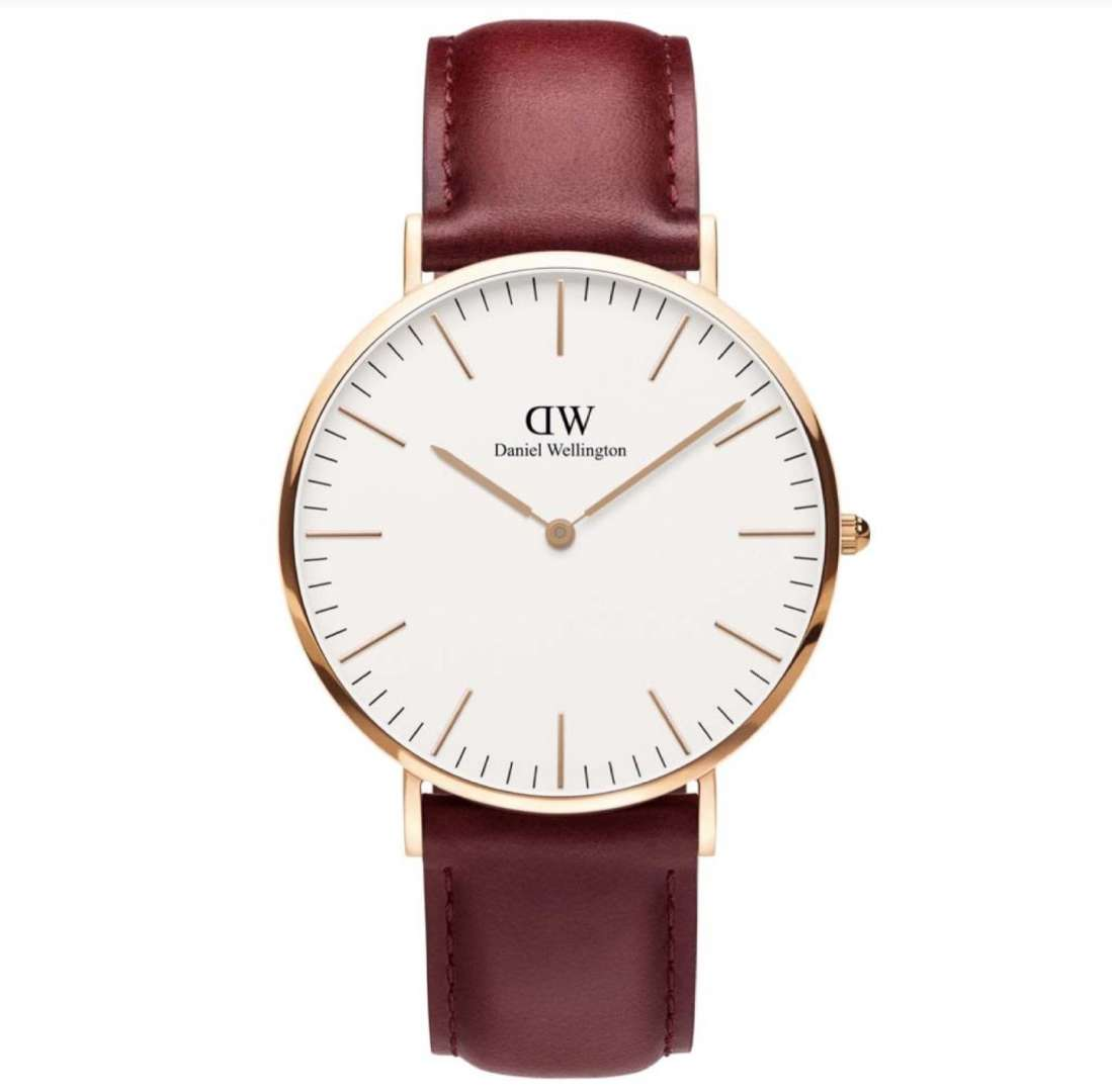 שעון יד אנלוגי daniel wellington dw00100120 דניאל וולינגטון