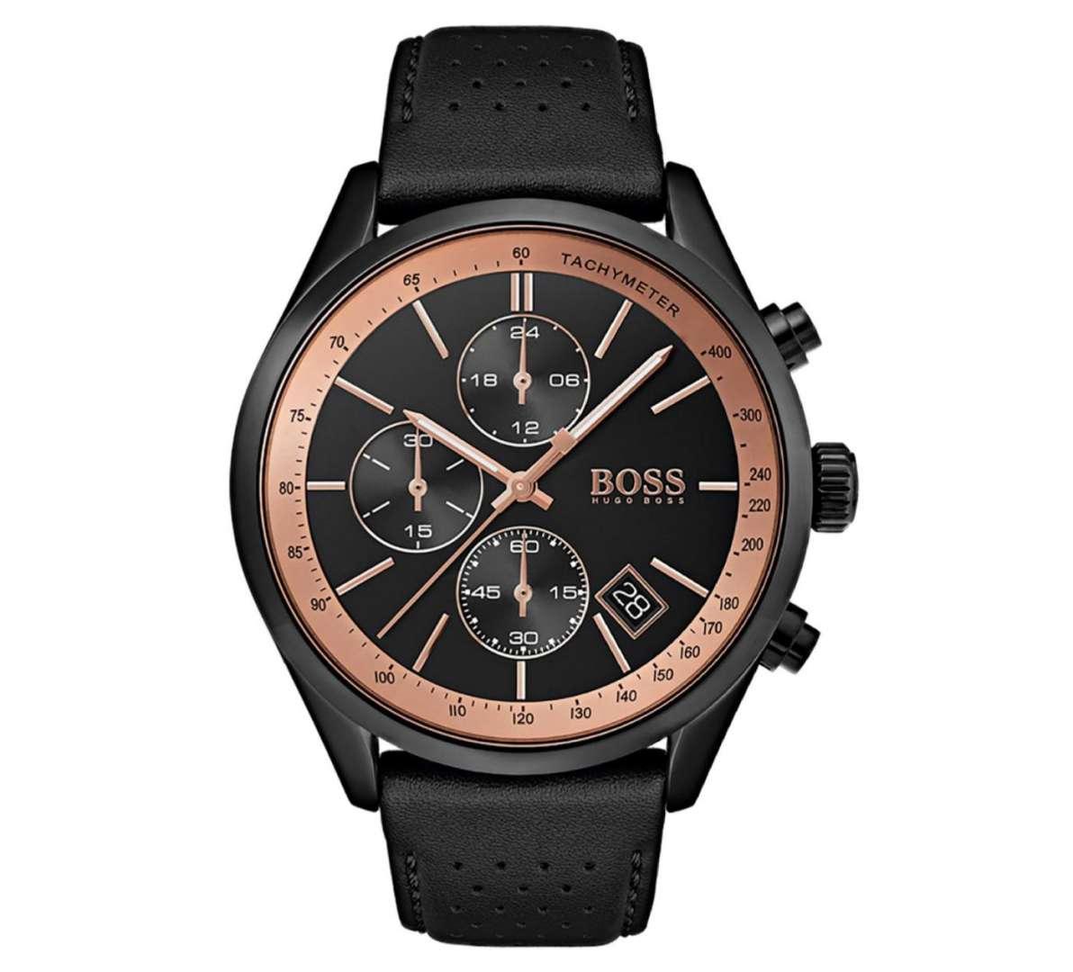 שעון יד אנלוגי לגבר hugo boss 1513550 הוגו בוס