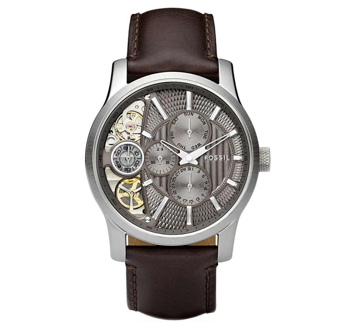 שעון יד אנלוגי fossil me1098 פוסיל