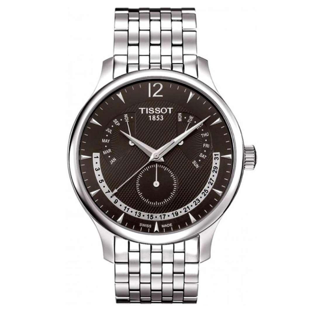 שעון יד אנלוגי tissot t063.637.11.067.00 טיסו