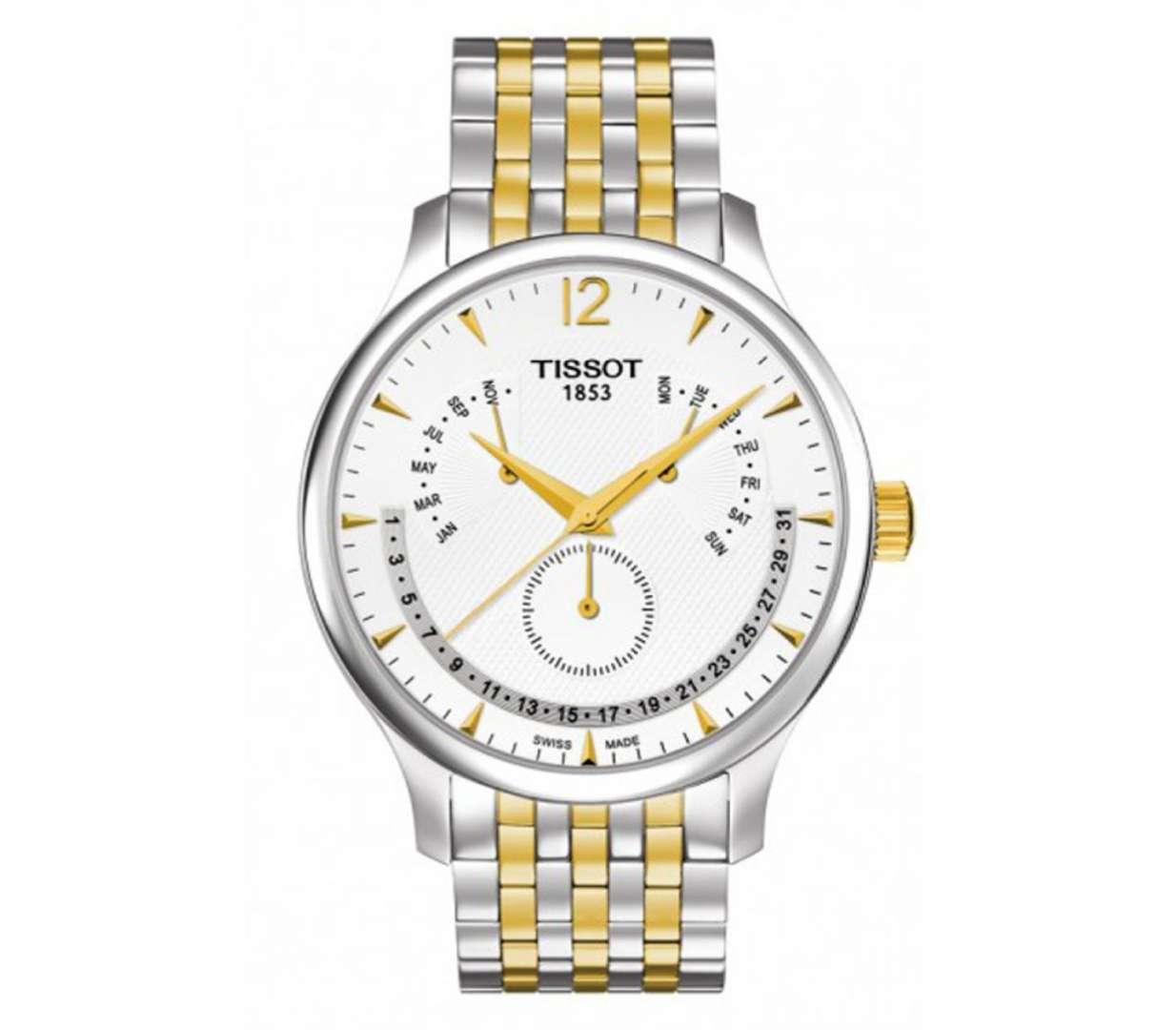 שעון יד אנלוגי tissot t063.637.22.037.00 טיסו