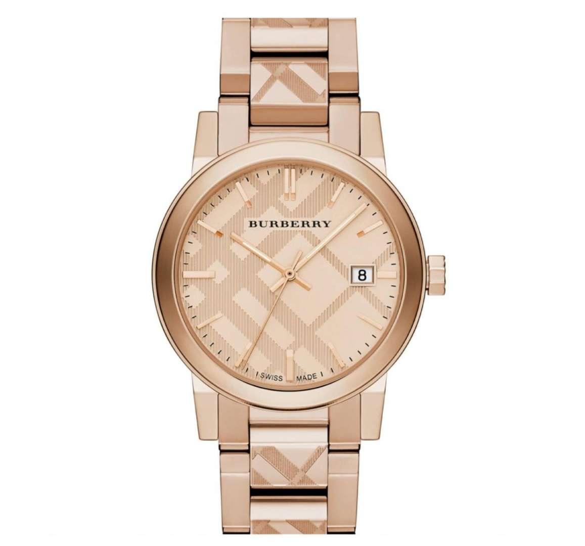 שעון יד אנלוגי burberry bu9039 ברברי