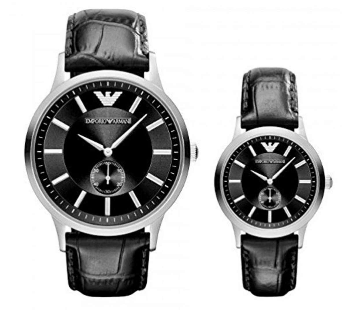 שעון יד אנלוגי emporio armani ar9100 אמפוריו ארמני