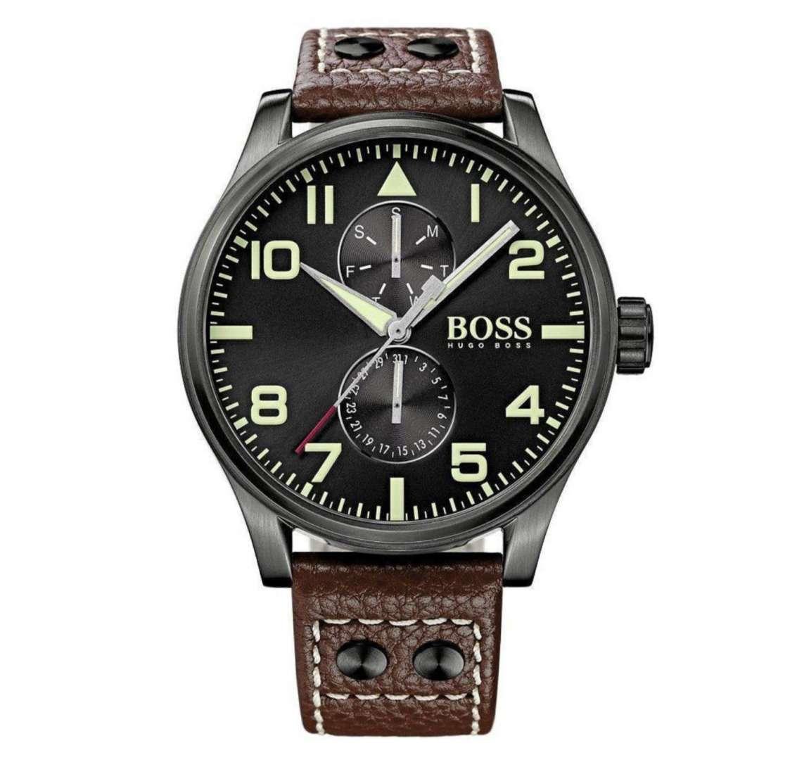 שעון יד אנלוגי לגבר hugo boss 1513079 הוגו בוס