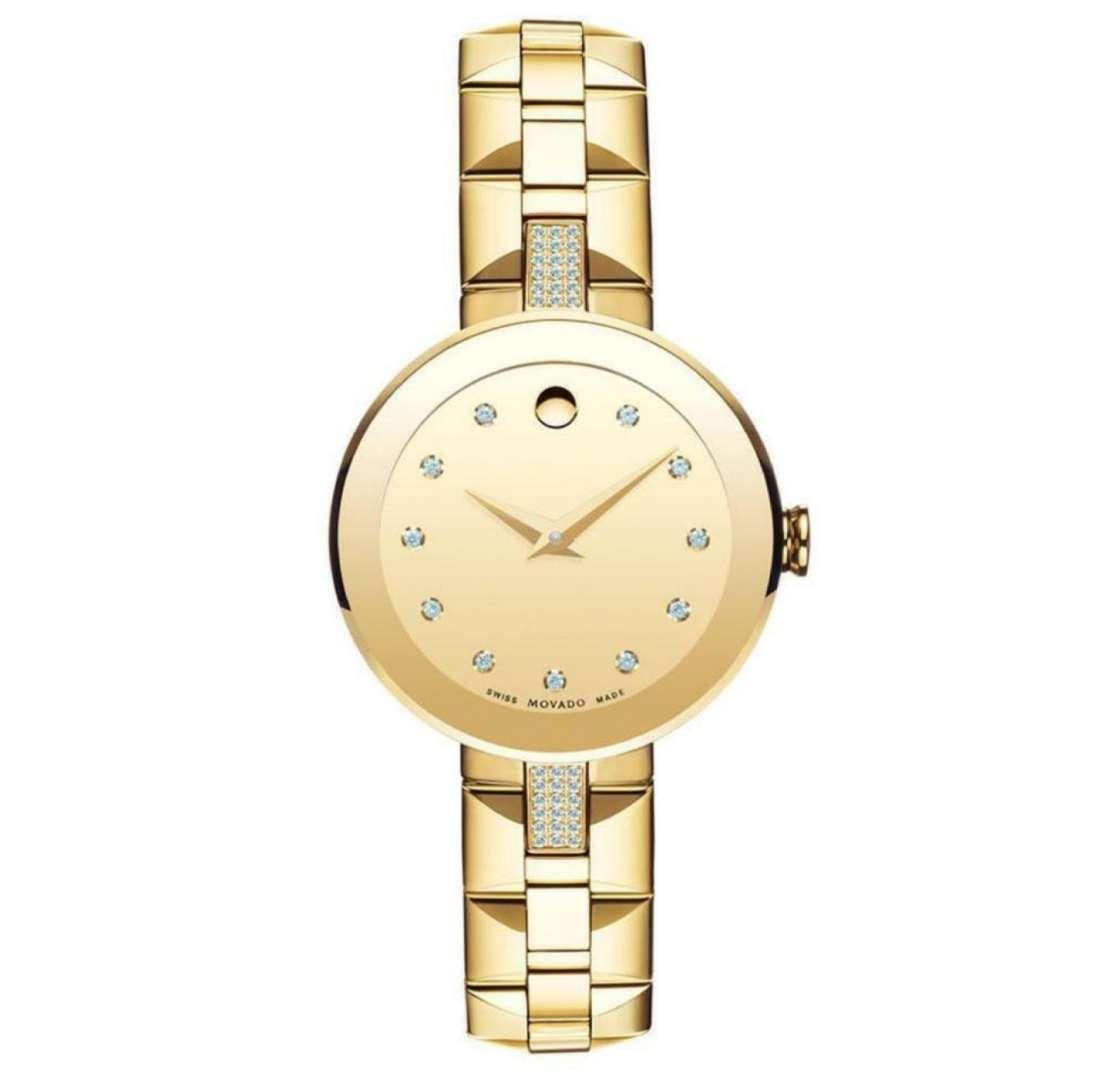 שעון יד אנלוגי 0606817 Movado מובאדו