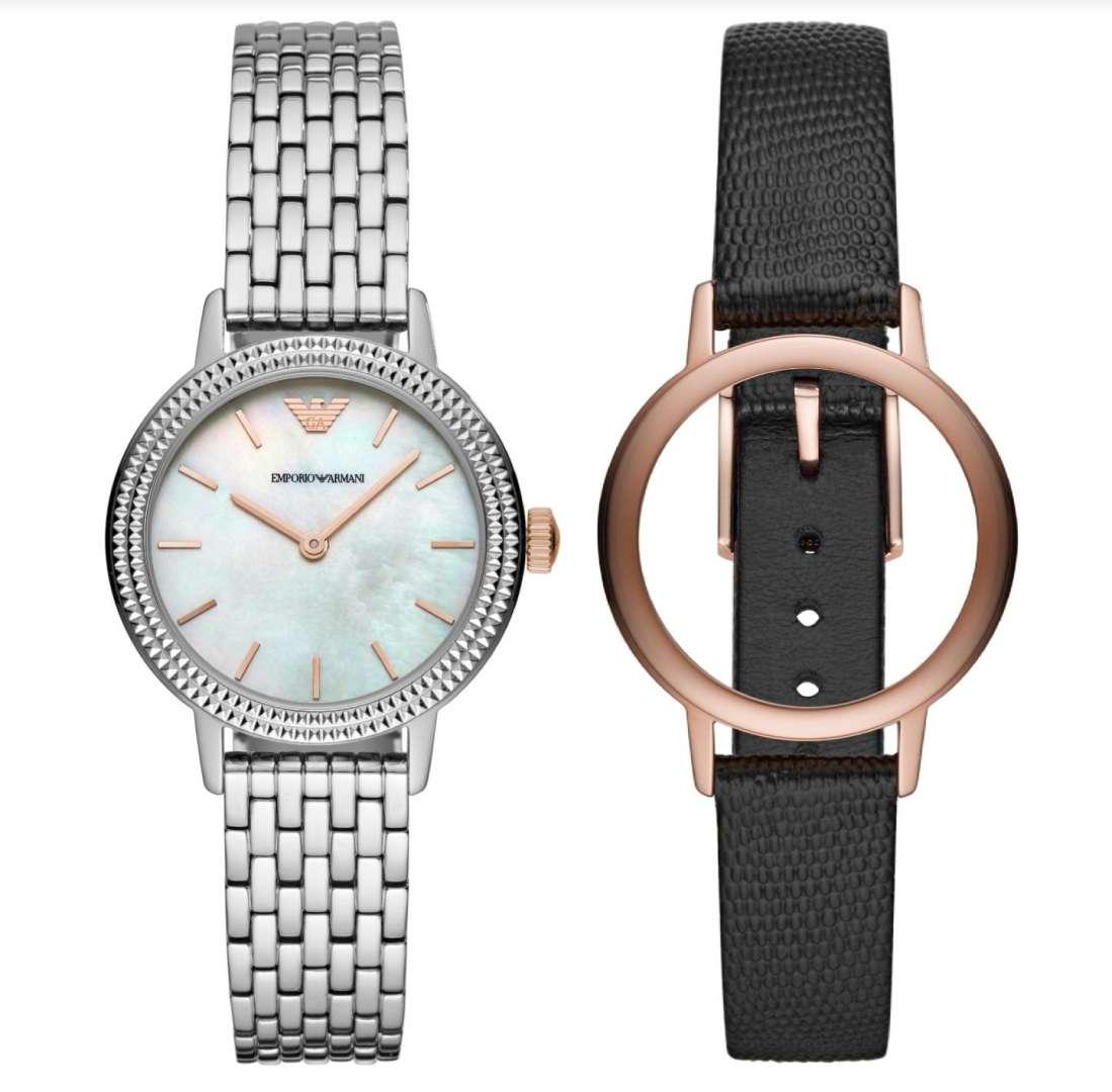 שעון יד אנלוגי לאישה emporio armani ar80020 אמפוריו ארמני