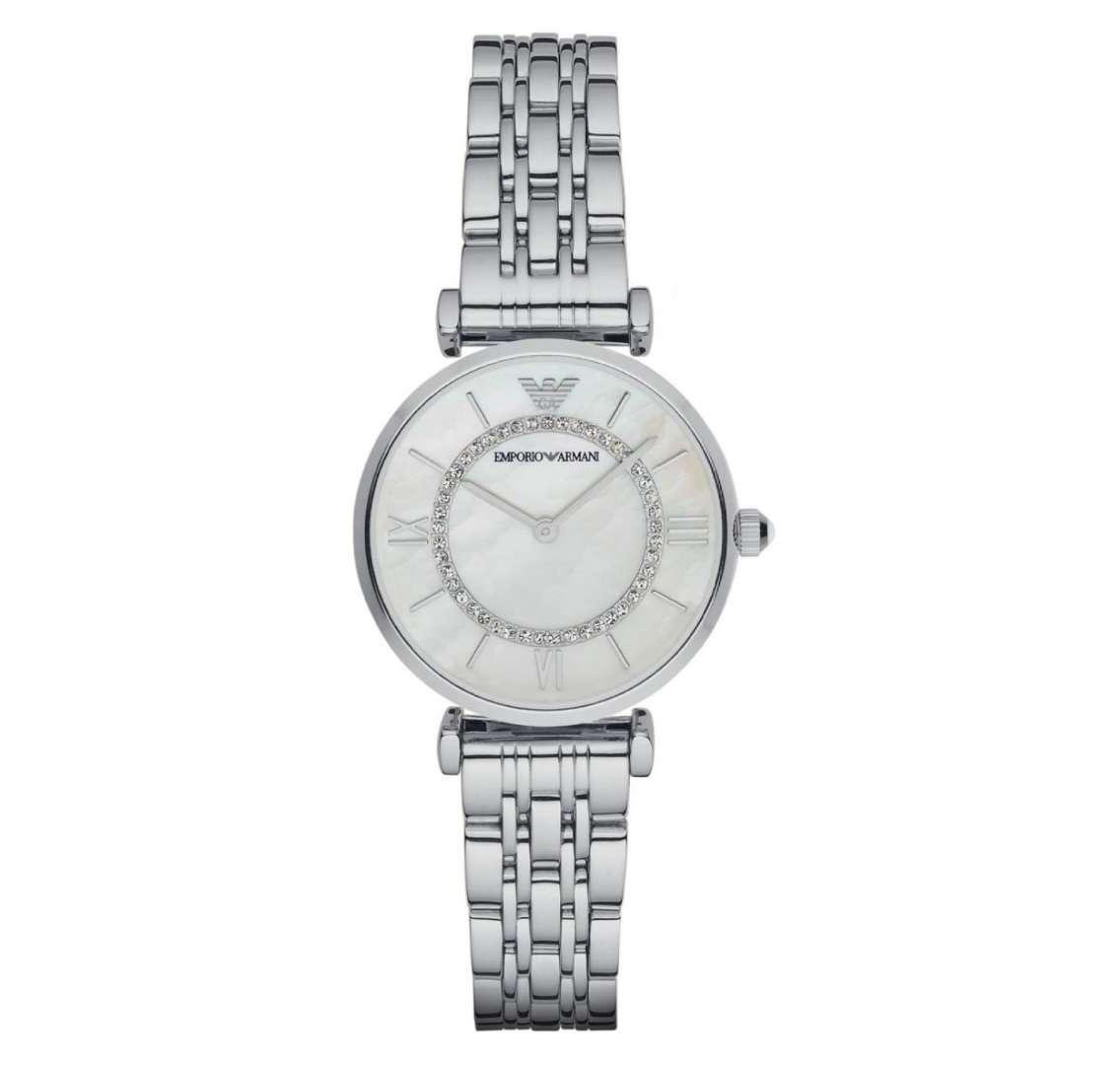 שעון יד אנלוגי לאישה emporio armani ar1908 אמפוריו ארמני