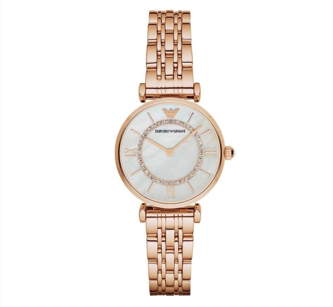שעון יד אנלוגי לאישה emporio armani ar1909 אמפוריו ארמני