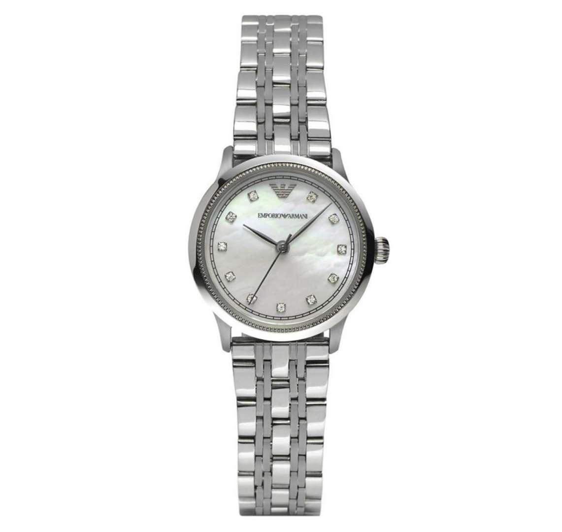 שעון יד אנלוגי לאישה emporio armani ar1803 אמפוריו ארמני