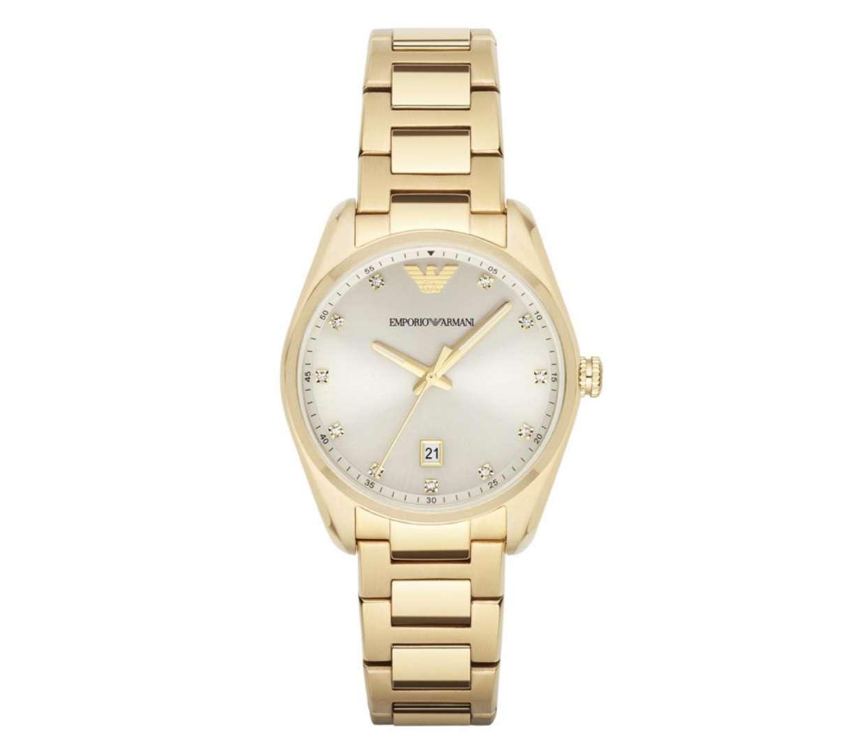 שעון יד אנלוגי לאישה emporio armani ar6064 אמפוריו ארמני