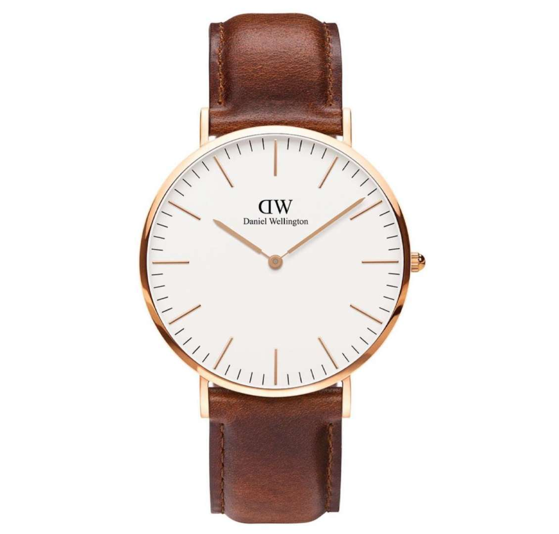 שעון יד אנלוגי daniel wellington dw00100035 דניאל וולינגטון