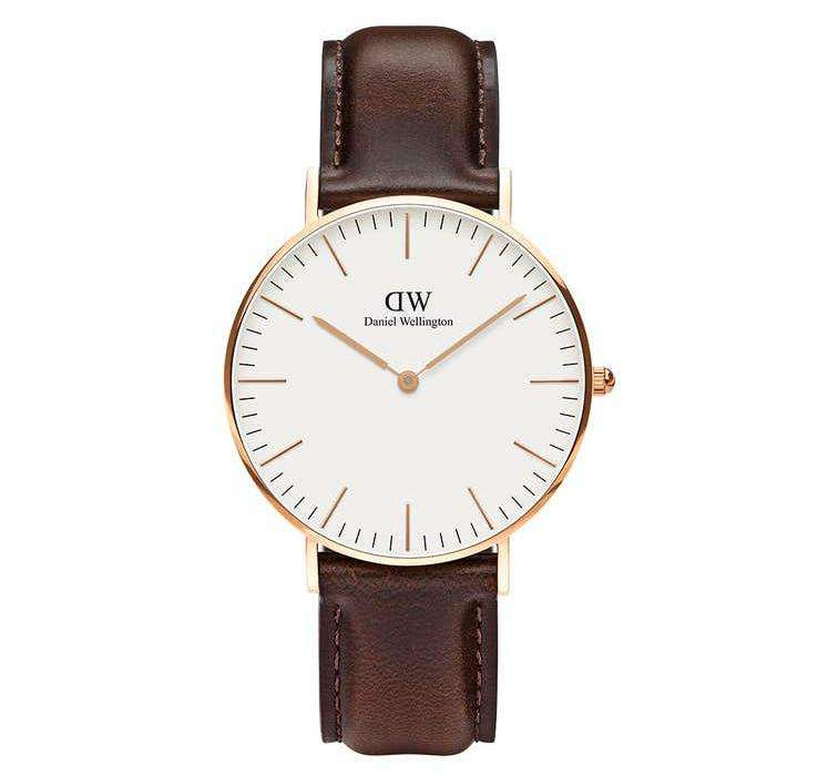 שעון יד אנלוגי daniel wellington dw00100039 דניאל וולינגטון
