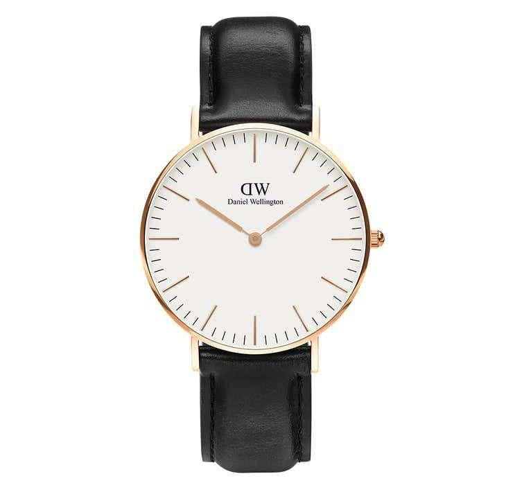 שעון יד אנלוגי daniel wellington dw00100036 דניאל וולינגטון