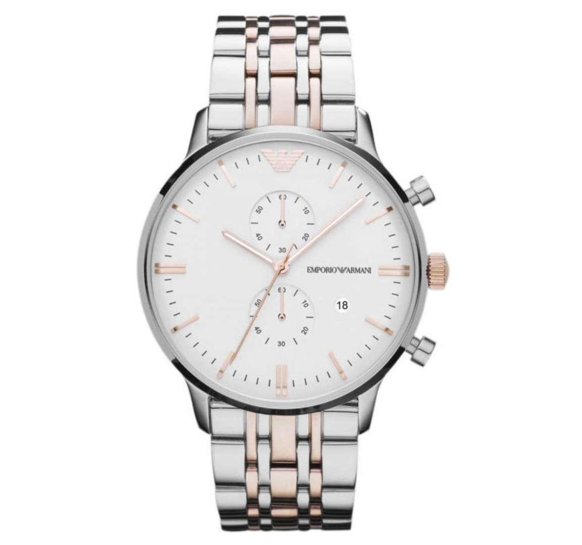 שעון יד אנלוגי לגבר emporio armani ar0399 אמפוריו ארמני