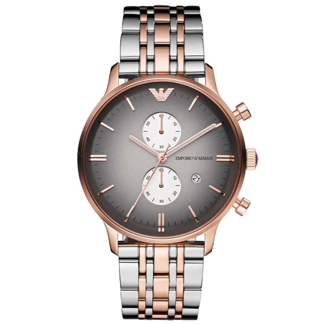 שעון יד אנלוגי לגבר emporio armani ar1721 אמפוריו ארמני
