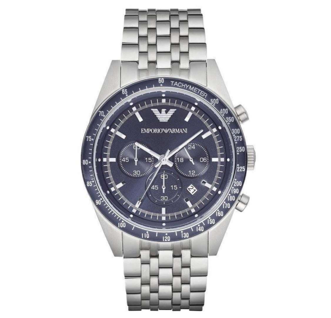 שעון יד אנלוגי לגבר emporio armani ar6072 אמפוריו ארמני