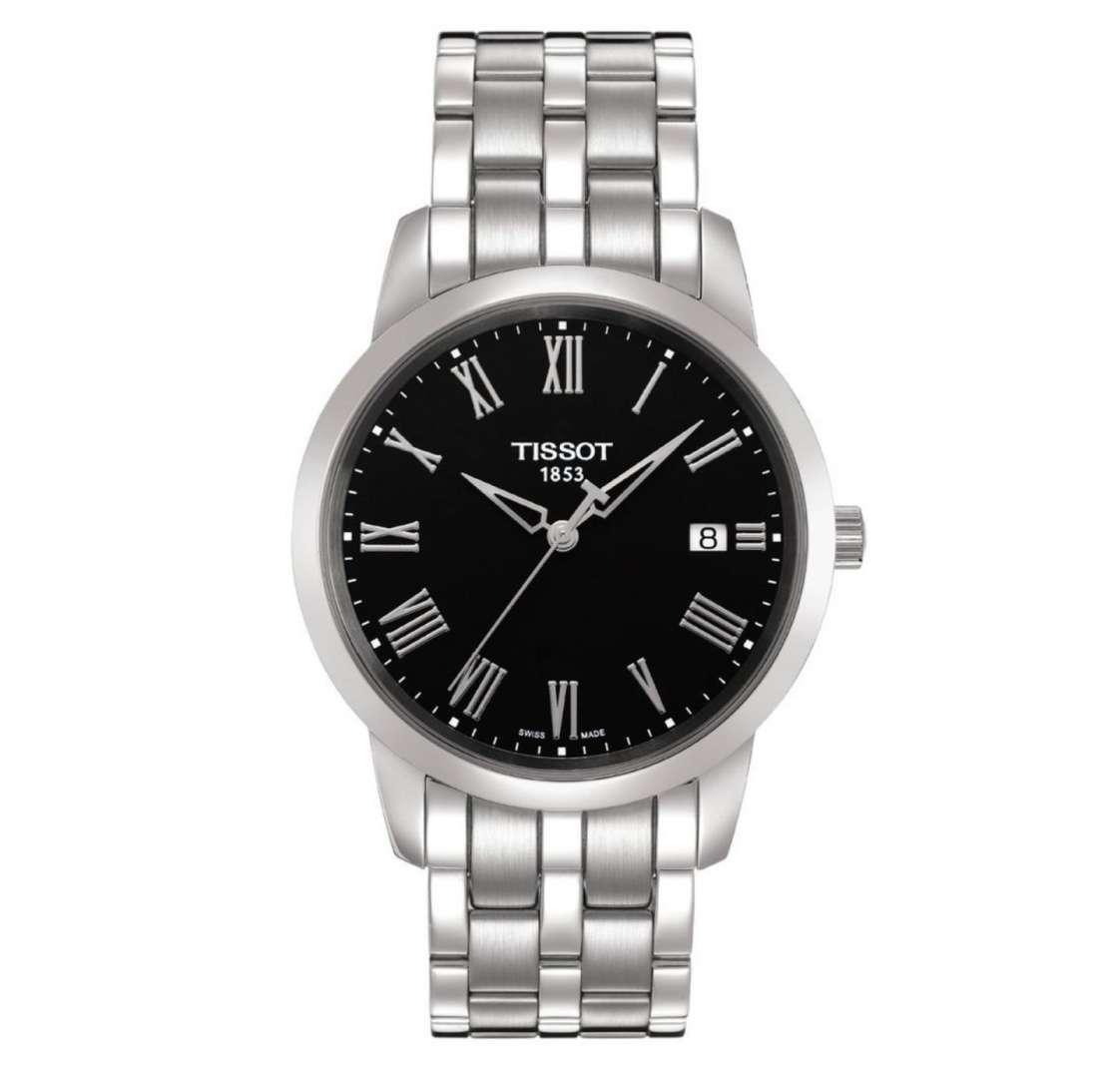 שעון יד אנלוגי tissot t033.410.11.053.00 טיסו
