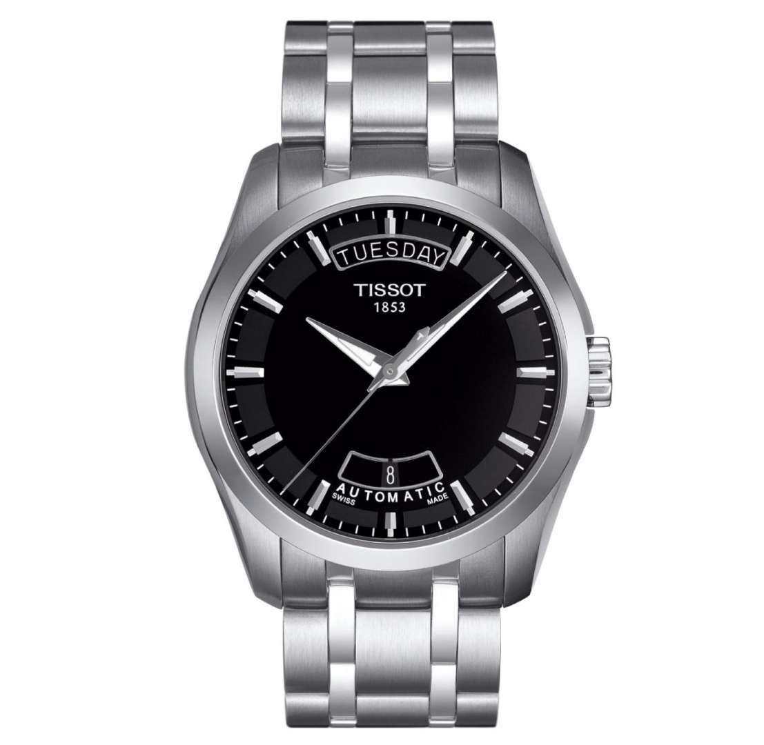 שעון יד אנלוגי tissot t035.407.11.051.00 טיסו