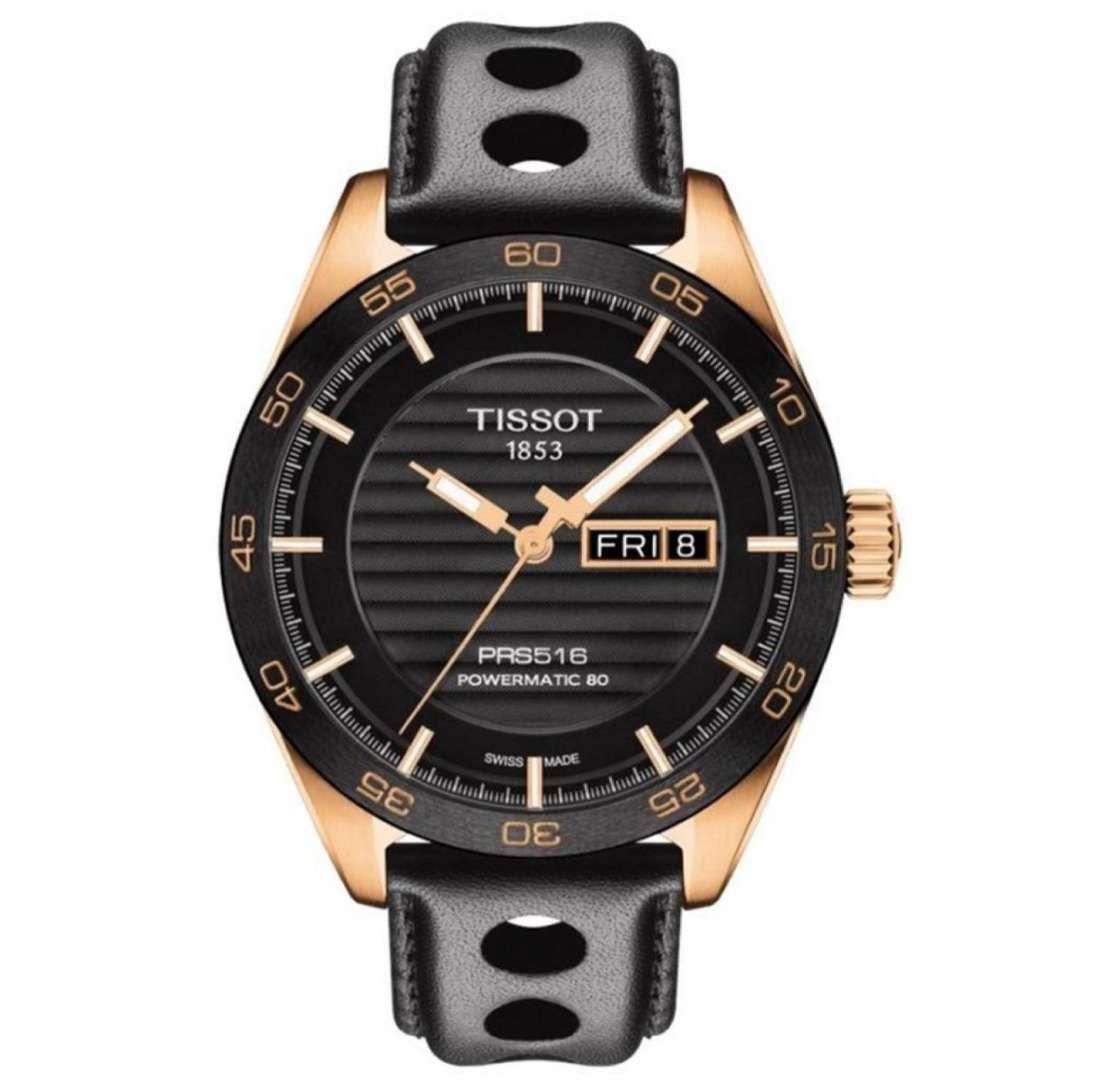 שעון יד אנלוגי tissot t100.430.36.051.00 טיסו
