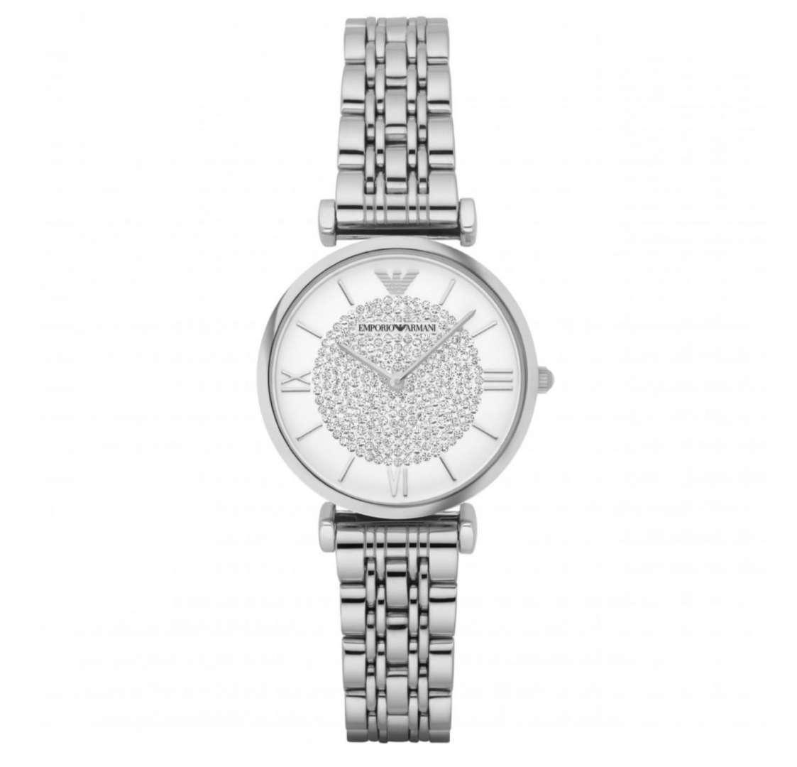 שעון יד אנלוגי לאישה emporio armani ar1925 אמפוריו ארמני