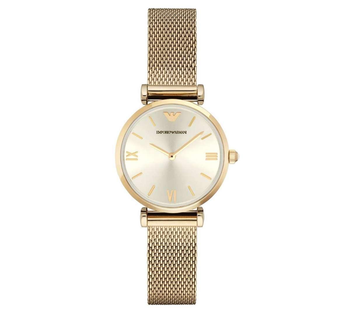 שעון יד אנלוגי לאישה emporio armani ar1957 אמפוריו ארמני