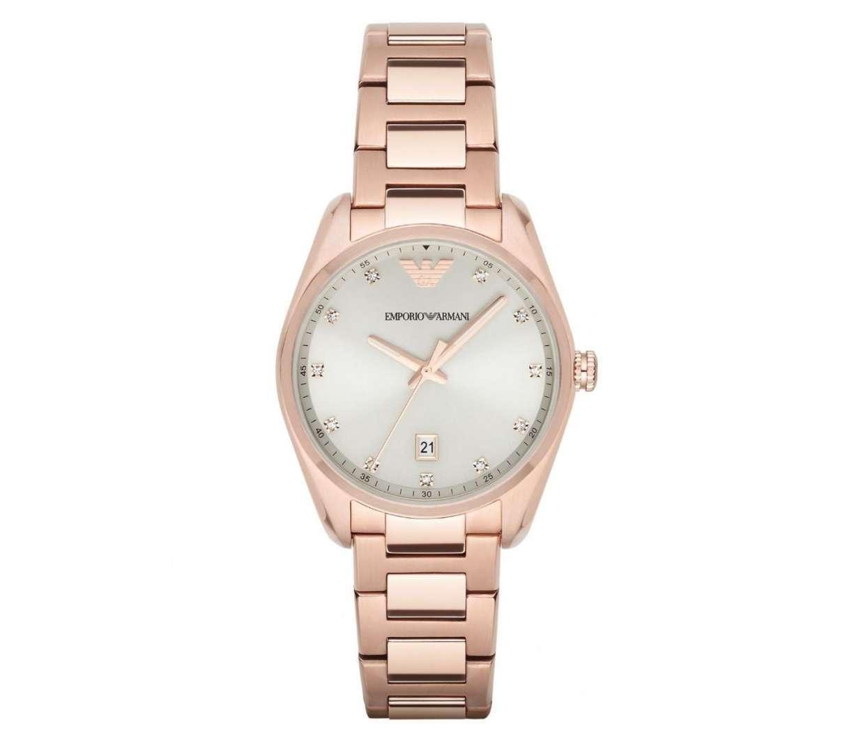 שעון יד אנלוגי לאישה emporio armani ar6065 אמפוריו ארמני