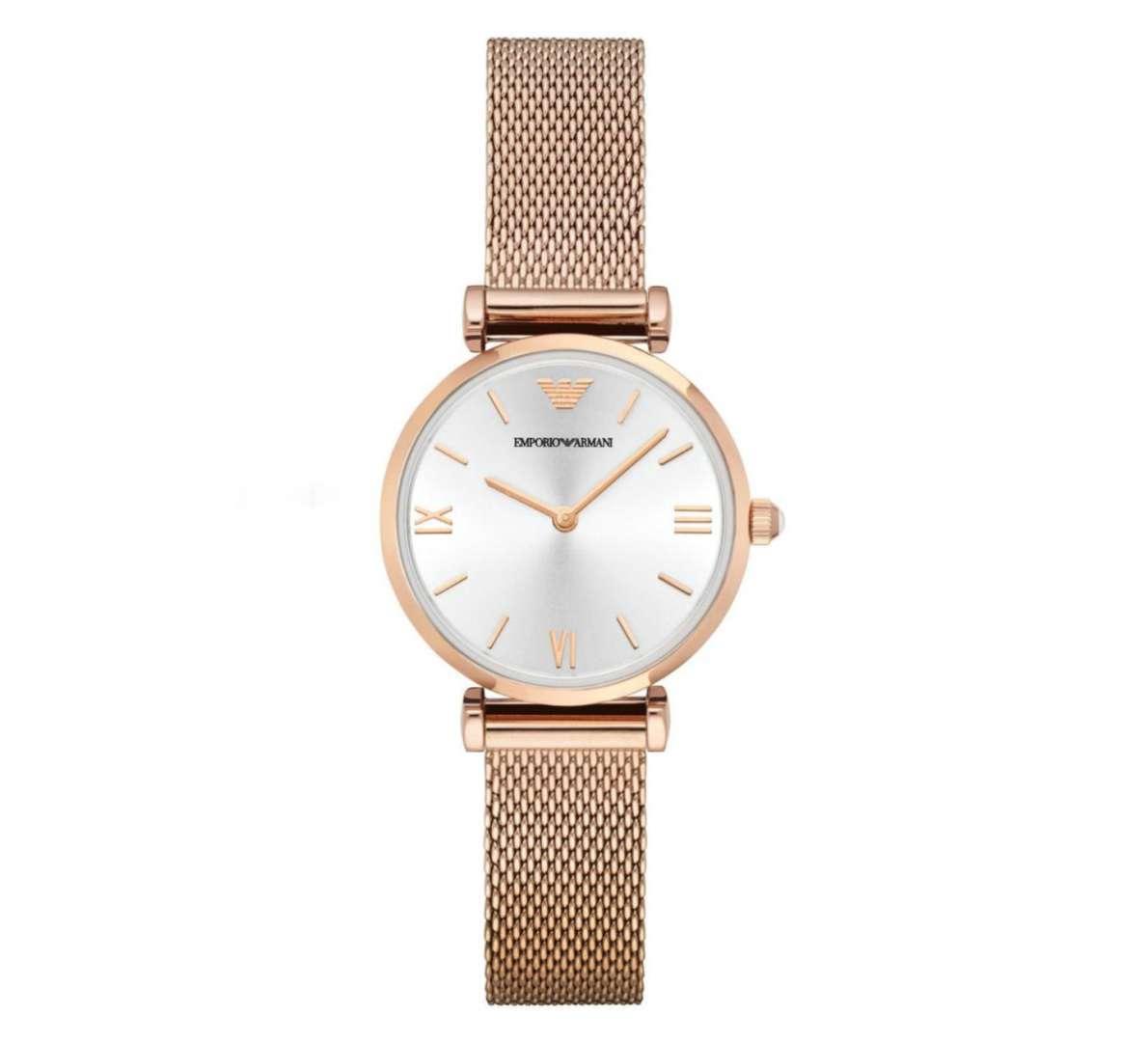 שעון יד אנלוגי לאישה emporio armani ar1956 אמפוריו ארמני