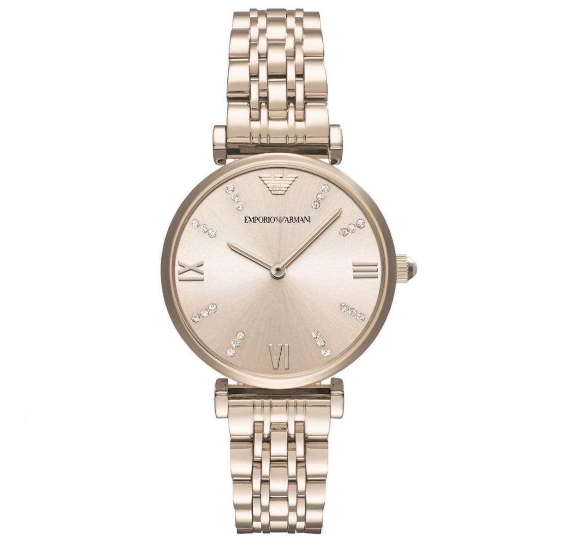 שעון יד אנלוגי לאישה emporio armani ar11059 אמפוריו ארמני