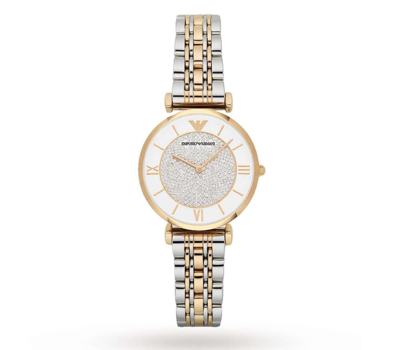 שעון יד אנלוגי לאישה emporio armani ar8031 אמפוריו ארמני