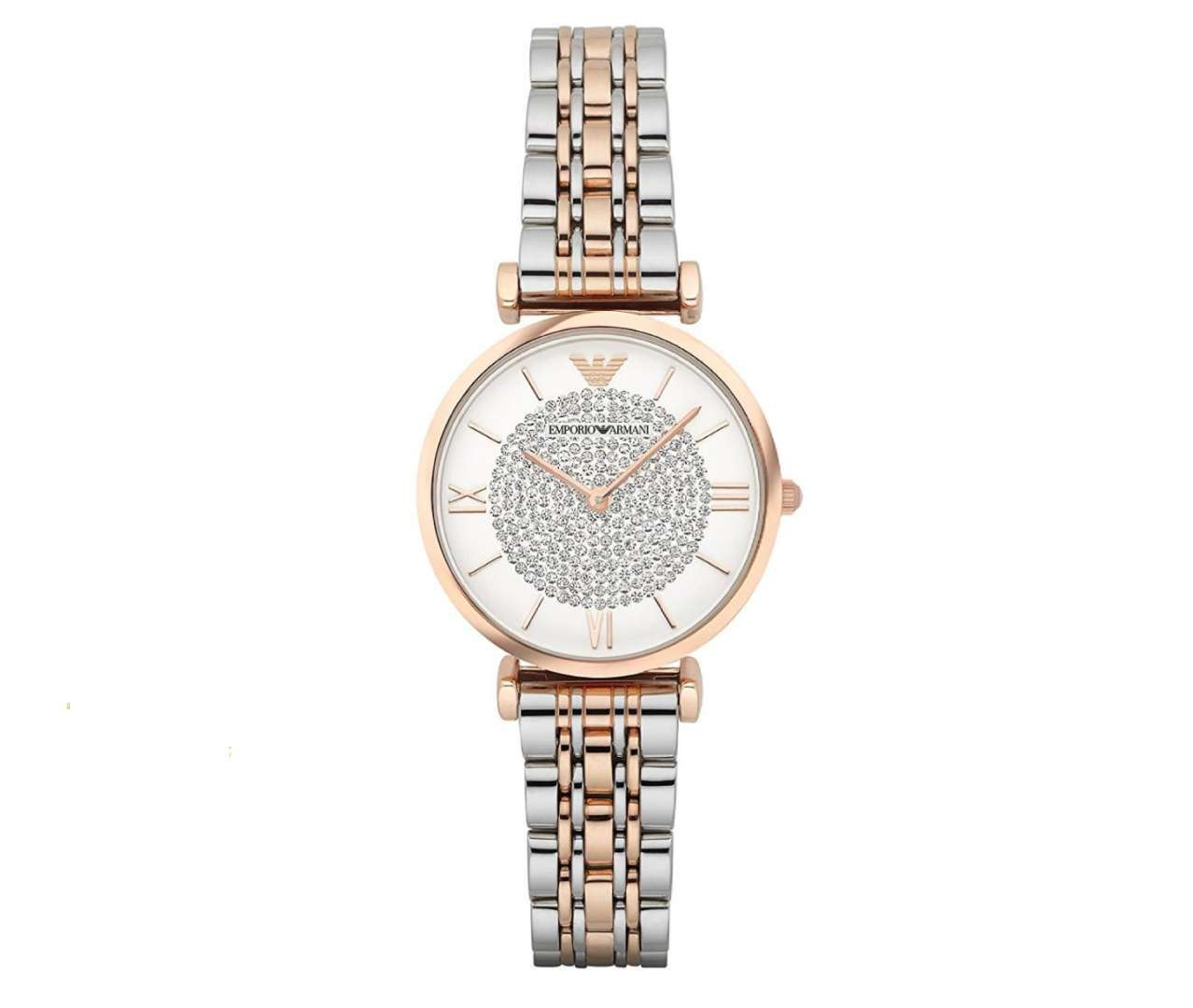 שעון יד אנלוגי לאישה emporio armani ar1926 אמפוריו ארמני
