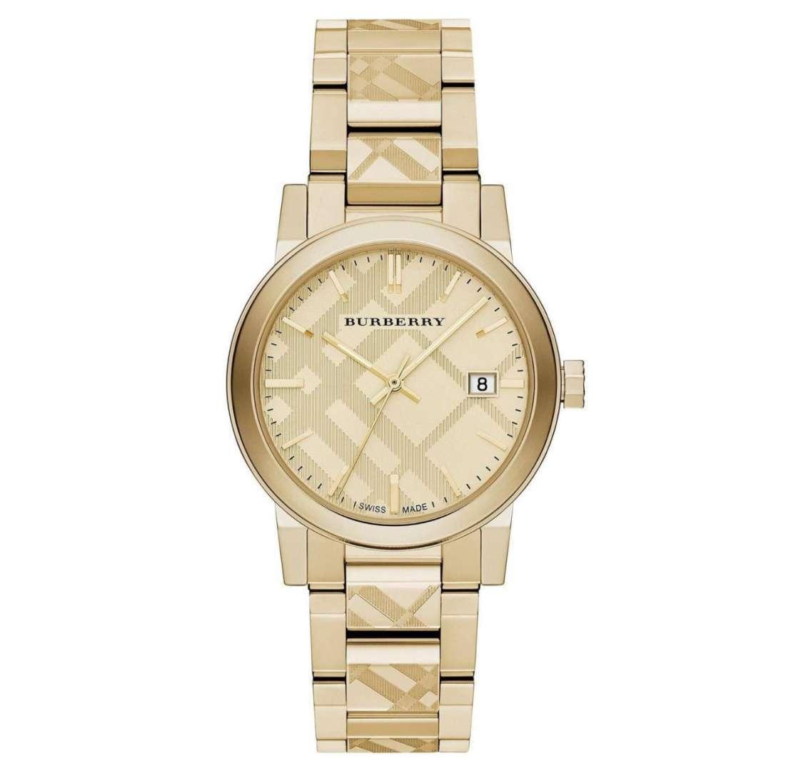 שעון יד אנלוגי burberry bu9038 ברברי