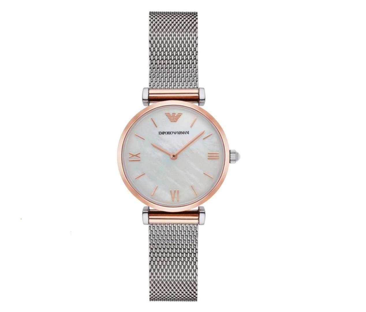 שעון יד אנלוגי לאישה emporio armani ar2067 אמפוריו ארמני