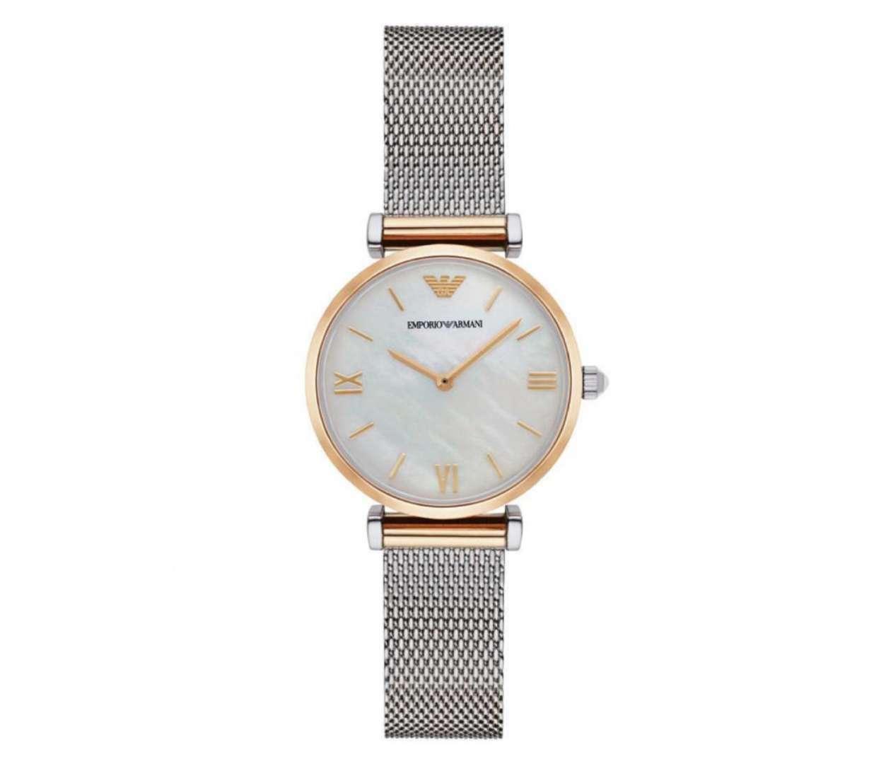 שעון יד אנלוגי לאישה emporio armani ar2068 אמפוריו ארמני
