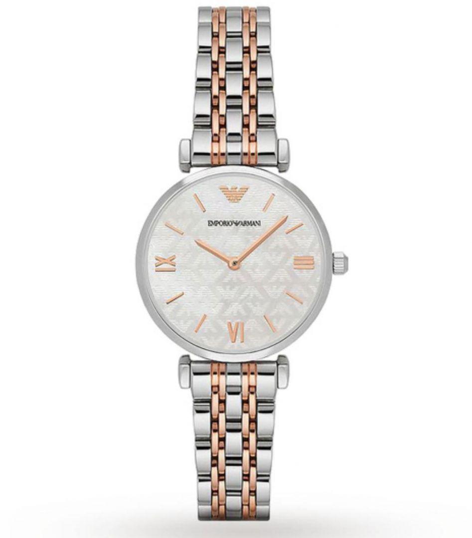 שעון יד אנלוגי לאישה emporio armani ar1987 אמפוריו ארמני